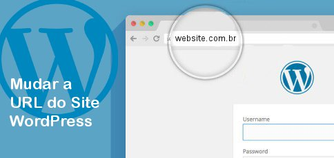 mudar url do site wordpress